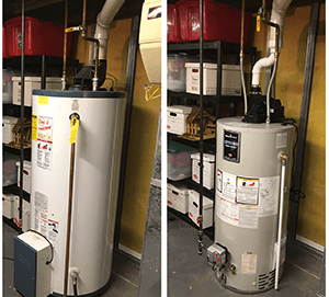 New water hot water tanks, tankless hot water tanks for Toledo area homes.